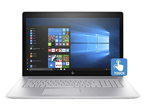 HP Envy - 17t (2020) 10th Gen Home and Business Laptop (Intel i7-10510U 4-Core, 64GB RAM, 512GB m.2 SATA SSD, NVIDIA MX250, 17.3' Touch Full HD (1920x1080), Fingerprint, WiFi, Win 10 Pro) (Renewed)