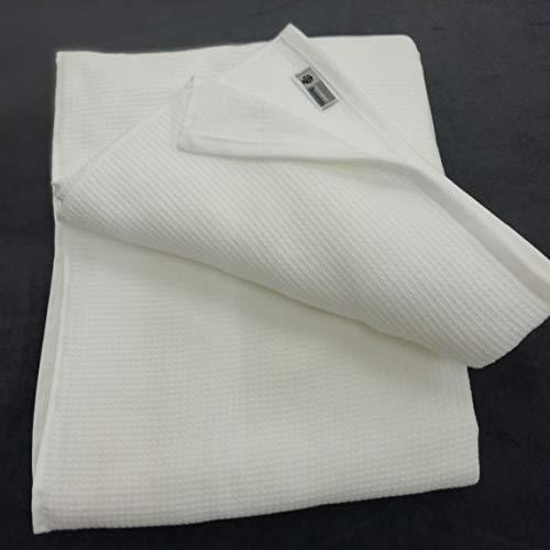 Dormabell Anschmiegsam und leichte Frottierdecke weiß, Größe: ca. 160cm x 200cm, vielseitig einsetzbar, 100% Reine Baumwolle