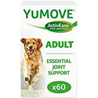 Multi-action dog joint supplement, specifically designed for adult dogs Aids comfort, supports joint structure and promotes mobility, thanks to ultra-high quality Omega 3s from our unique ActivEase Green Lipped Mussel, plus a blend of Glucosamine, Ma...