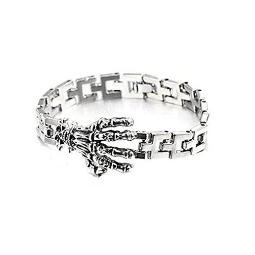 GYJUN bracelet en argent de tennis en alliage de forme de griffe de mode pour hommes (1 pc)