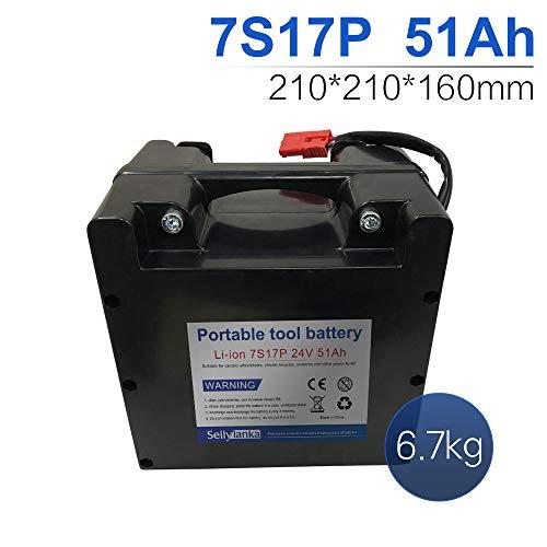 24V Li-ion batería dedicada a sillas de ruedas eléctricas Batería de plomo-ácido reemplazable 12Ah 15Ah 18Ah 24Ah 27Ah 30Ah 33Ah 36Ah 39Ah 42Ah 45Ah 48Ah 51Ah 54Ah 57Ah 60Ah (B-51Ah)