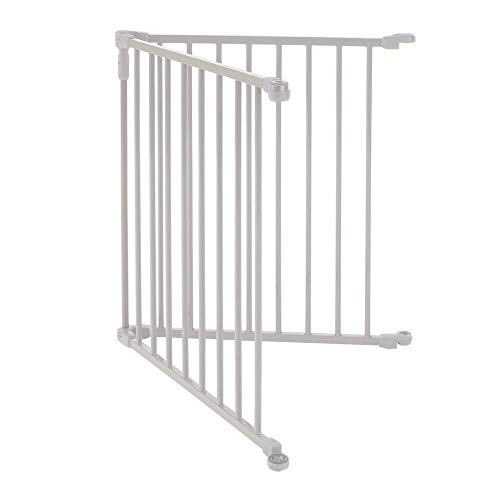 Toddleroo by North States 2 Panel Extension for 3 in 1 Metal Superyard: Adds up to 48' for an Extra Wide Baby gate or Play Yard (48' Width, Beige)