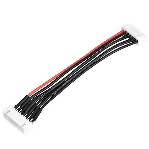LiPo Akku Balance Ladegerätkabel, 2S 3S 4S 6S Balance Ladegerät Stecker Draht / Stecker 22AWG 100mm Balancer Kabel Ladegerät Anschluss( 6S)