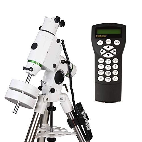 Sky-Watcher HEQ5 – Fully Computerized GoTo German Equatorial Telescope Mount – Motorized Astrophotography Mount with 42,000 Object Database