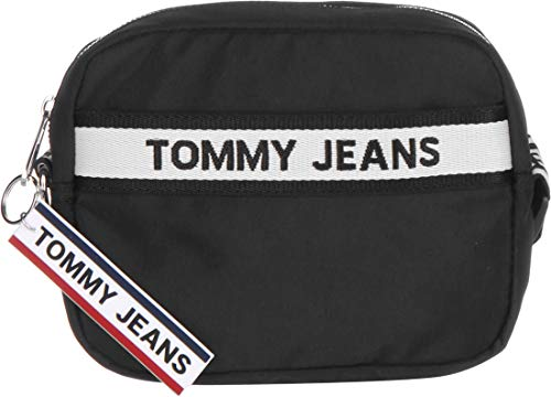 Tommy Hilfiger TJW Logo Tape Crossover NYL Black