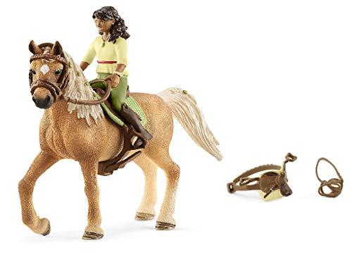 Horseclub - SCHLEICH Sarah & Mystery, 42517 inklusive extra Sattel & Zaumzeug Horse Club Sarah & Mystery 42492