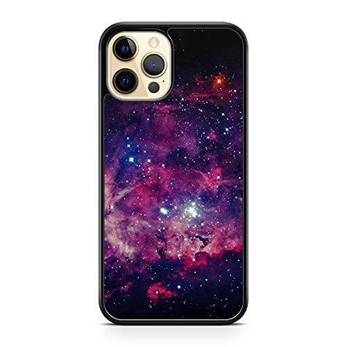Cover per telefono con motivo stellato, elegante, con scritta 'Twinkling Latte', per Galaxy Space Misty Lush Sky (modello telefono: Huawei P8 Lite (2017))