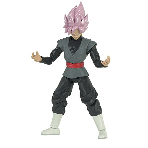 Dragon Ball Figura Deluxe Goku Black Rose, 17 cm (Bandai 35866)