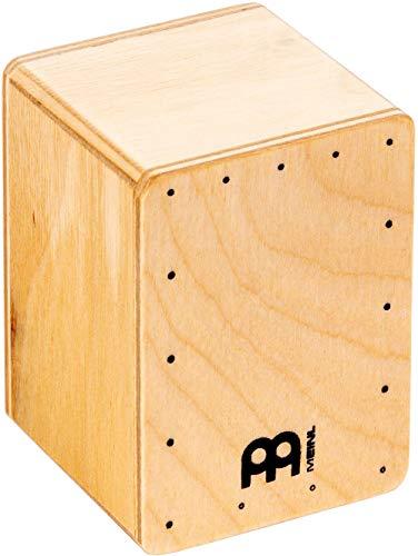 Meinl Percussion SH50, Mini shaker a forma di cajon, in legno di faggio, 1 Pezzo