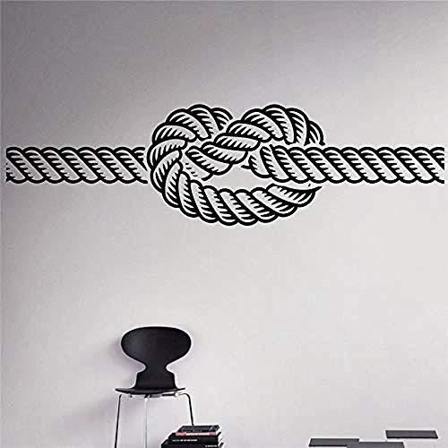 110X30cm Ocean Knot Wall Decal HNA Wall Idea Wall Interior Room Diseño Etiqueta de la pared DIY Art Decal