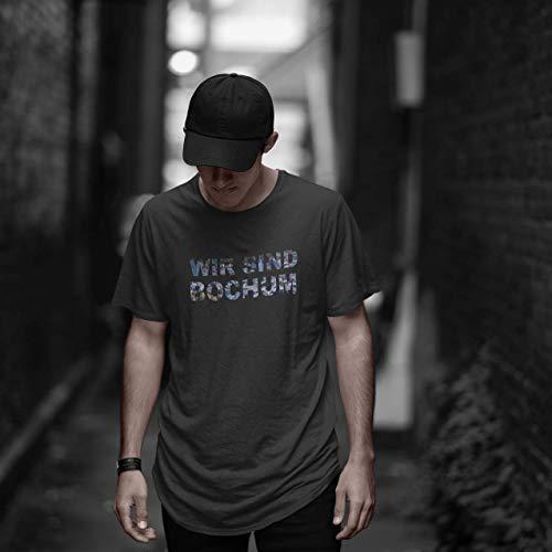 World of Football T-Shirt wir sind Bochum schwarz - L