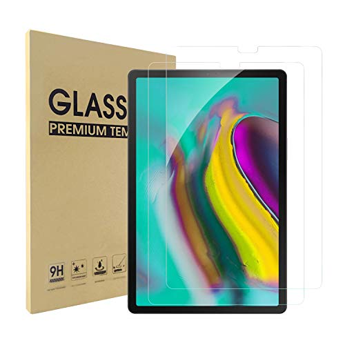 Simpeak 2 Pack Screen Protector Compatible with Samsung Galaxy Tab S5e / S6 10.5, Tempered Glass Film clear Screen Protectors Replacement for Samsung Tab S5e 10.5 SM-T720/SM-T725