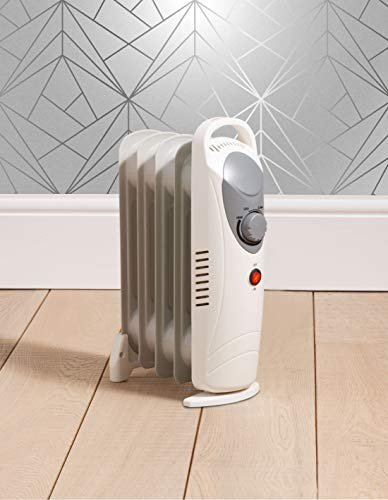 Fine Elements Lightweight And Compact Mini Oil Filled Radiator