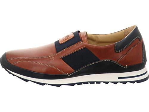 Galizio Torresi Sneaker, Foulard Rame/Blu, Wechselfußbett 418590 (Größe: 40)