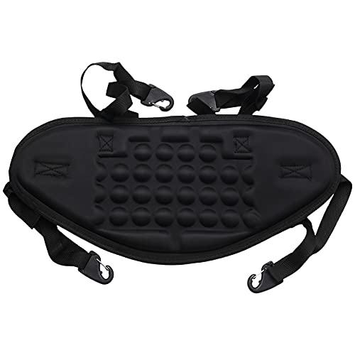 Heritan 1 cojín ajustable de kayak canoa ambiental almohadilla de respaldo para kayak suave y gruesa almohadilla de apoyo para la espalda