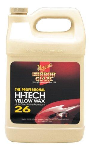 Meguiar's M26 Mirror Glaze Hi-Tech Yellow Wax - 1 Gallon