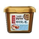 Korean Soybean Paste, Ready to Cook Collection; 된장찌개 양념 모음   해찬들 바지락과 게, 1 Pack