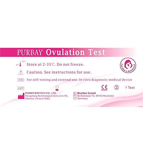 30 x Purbay Ovulationstest Streifen 10 miu/ml LH ovulation test