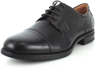 Men's Midtown Cap Toe Oxford Black Smooth 10.5 Eeeee US