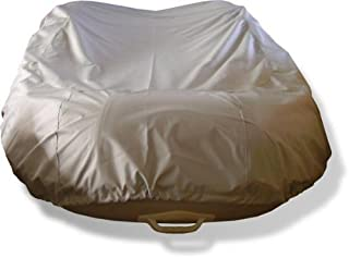 Vortex New Grey 12 1/2 Inflatable Boat Dingy Dinghy COVER/600D, FITS UP to 12 1/2' Long, 5 1/2' Wide, 18