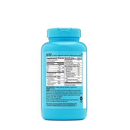 GNC Total Lean CLA PM, 120 Softgels, Nighttime Metabolism Support for Restful Sleep