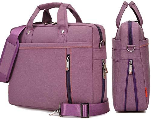YiYiNoe Shoulder Bag for 17 inch Laptop Business Briefcase Waterproof Messenger Bags Purple …