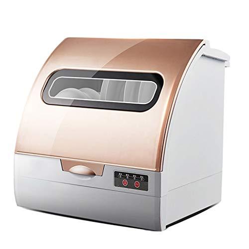 Garny Lavavajillas de sobremesa Lavaplatos portátil Compacto Profesional automático, Pantalla LED, Puerta con manija, fácil de Limpiar [Clase energética A +]