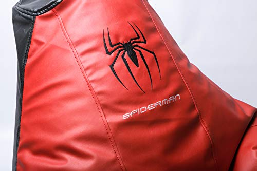 Comics Spiderman Superhero Comfortable Kids Adult Game Outdoor Indoor Lounge Chair Beanbag Cover + Inner Bag (Without Beans) (Spiderman)