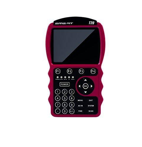 Smart T20 digitales Messgerät (8,9 cm (3,5 Zoll) LCD-Display, DVB-T, DVB-T2 ) rot