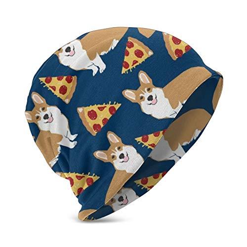 Corgi Pizza Marineblau Kinder Süße lustige Corgis Hund Mütze Männer Frauen Unisex...