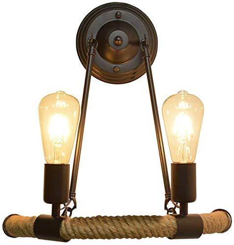 YUPIN hanglamp Retro E27 peertjes hangend Loft Vintage Light industriële stijl kroonluchter ijzeren kunst-hangende lampen café woonkamer verlichting eetkamer decoratie verlichting