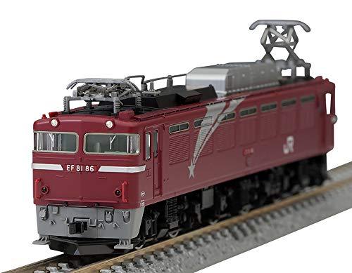 TOMIX Nゲージ EF81形 北斗星色 ・ Hゴムグレー 7126 鉄道模型 電気機関車