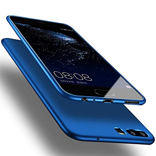 X-level Huawei P10 Hülle, [Guadian Serie] Soft Flex Silikon [Blau] Premium TPU Echtes Handygefühl Handyhülle Schutzhülle für Huawei P10 Hülle Cover
