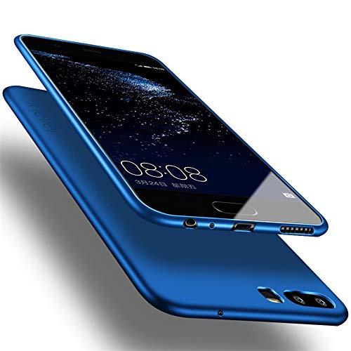X-level für Huawei P10 Plus Hülle, [Guardian Serie] Soft Flex TPU Hülle Superdünn Handyhülle Silikon Bumper Cover Schutz Tasche Schale Schutzhülle Kompatibel mit Huawei P10 Plus - Blau
