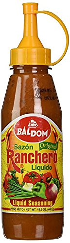Baldom Sazon Ranchero Liquido Original 15 oz (Paquete de 2)