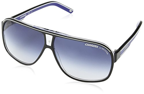 Carrera Grand Prix 2 08 T5C, Gafas de sol Unisex Adulto, Negro (Black Crystal Blue/Dark Blue Gradient), 64