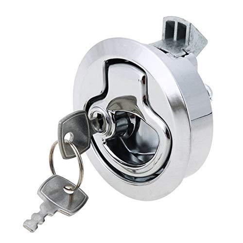 Auto deur slot actuator deur vangst luik release kast deur stop lade kast met sleutel, voor RV/jacht/wc Kleur1