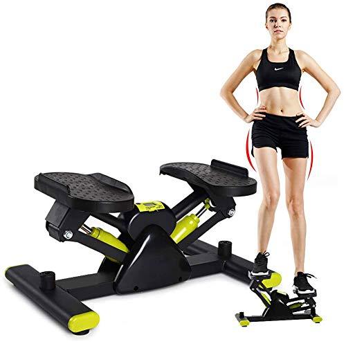 DZKU Sport Stepper, Verstellbare Mini Stepper, Fitnessgeräte Fitnesstraining für Zuhause Bein- und Po-Training, Nutzergewicht bis 100kg