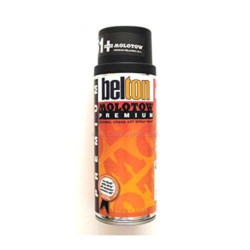 MOLOTOW Premium Spray 400 ml, 251 Colores - negro