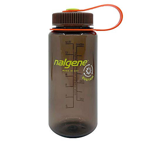 Nalgene Botella de Agua de Cuello Ancho Unisex para Adultos, 0,5 l