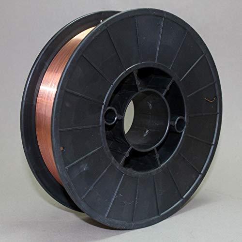 Schutzgas Schweißdraht Stahldraht SG2 0,8mm CO2 G3Si1 MIG/MAG 0,5-5kg D100 D200 (D200 5,0kg)