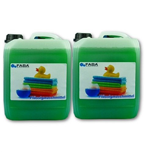 FABA Flüssigwaschmittel grün 2x10L in Kanistern