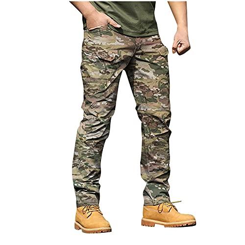 2021 Pantalones para Hombre Casual Moda trabajo pantalones Deportes al aire libre Pants Jogging Cómodo Camuflaje Pantalon Fitness Chandal Hombre Pantalones Largo Ropa de hombre Pantalones de Trekking
