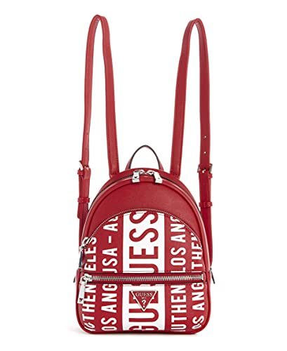 Guess Manhattan Backpack Red