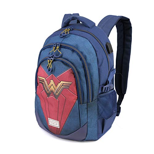 Karactermania Wonder Woman Emblem-zaino Running HS Mochila Tipo Casual 44 Centimeters 21 Multicolor (Multicolour)