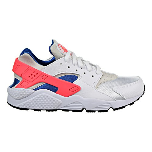 Nike Air Huarache Men's Running Shoes White/Ultramarine/Solar Red 318429-112 (9.5 D(M) US)