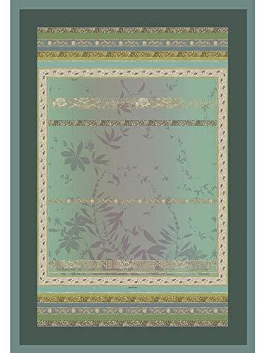 Bassetti Plaid in cotone, verde, 270 x 250 cm