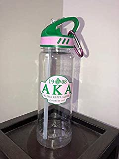 Alpha Kappa Alpha Sorority 24oz. Water Bottle