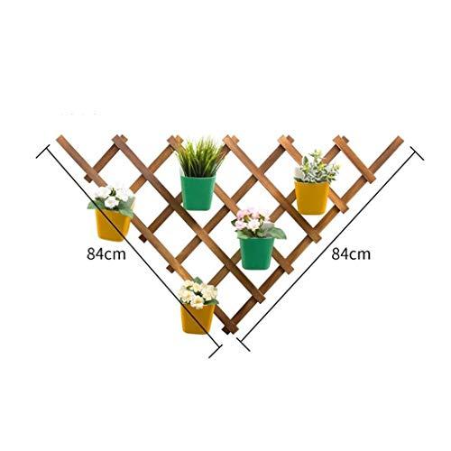 WTianang Stehen Pflanze Blume Regal Mehrschichtige Wand Fleshy Balkon Storage Dekoration Grün Porridge-Rack (Color : B)