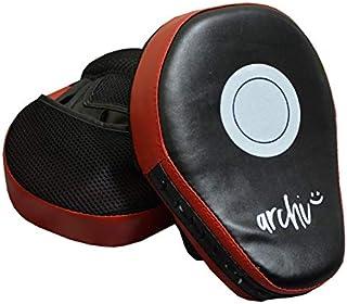 archi パンチングミット 2個セット ボクシングミット トレーニング フィットネス 空手
